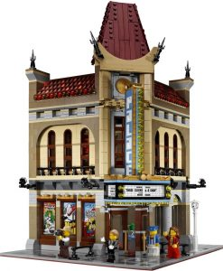 LEGO Palace Cinema build
