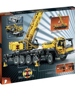 LEGO Technic Mobile Crane box back