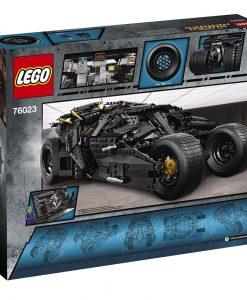 LEGO 76023 box back