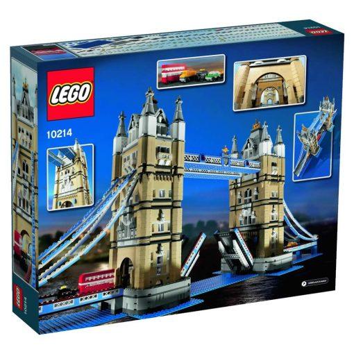 LEGO Tower Bridge 10214 box back