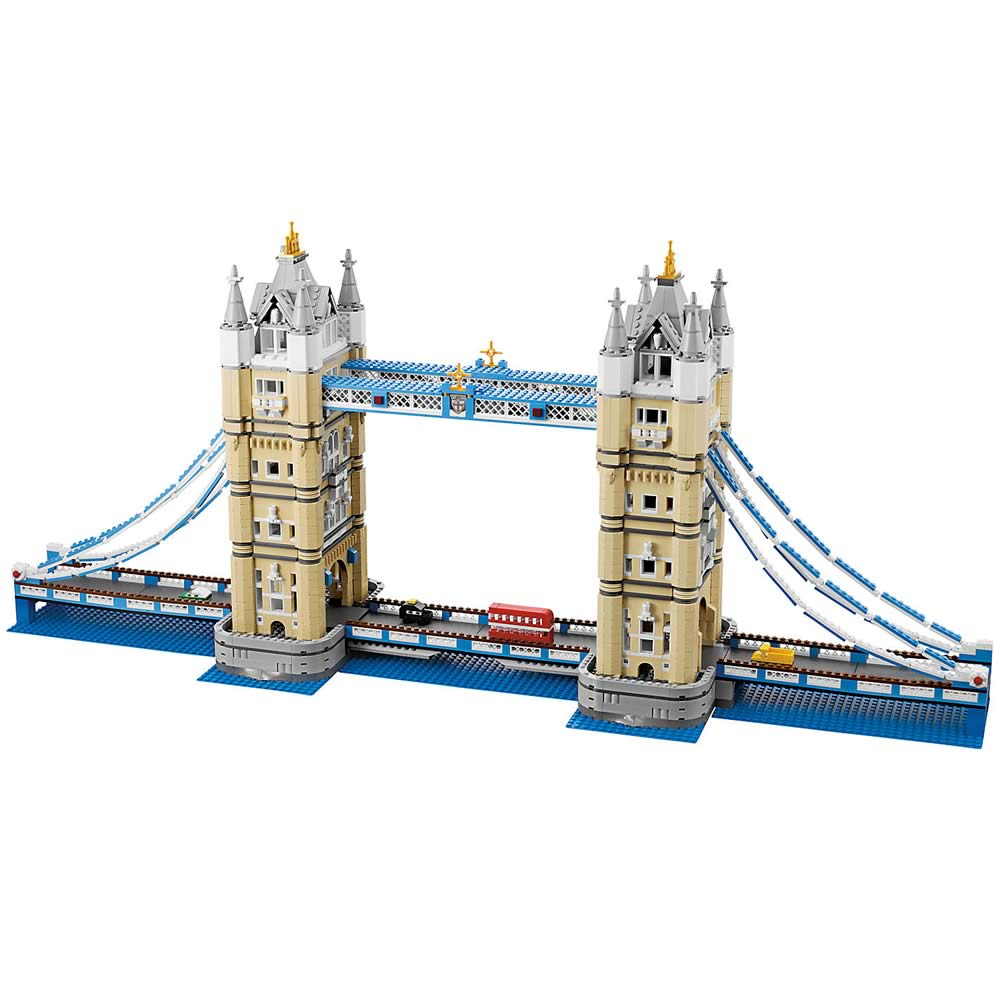 Lego tower bridge 10214 for 3d building creator