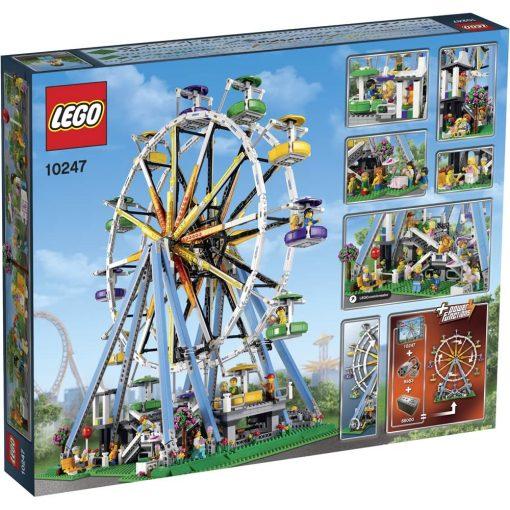 LEGO Ferris Wheel 10247 Box Back