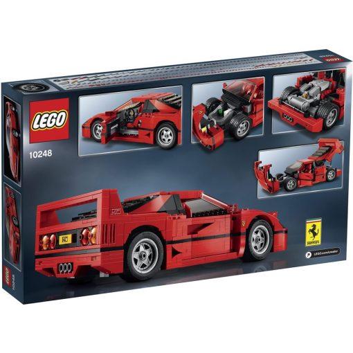 LEGO Ferrari F40 10248 Box Back