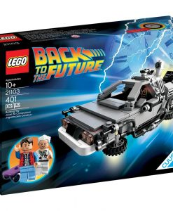 LEGO DeLorean Time Machine 21103 Box