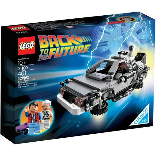 LEGO DeLorean Time Machine 21103 Box