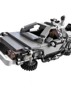 LEGO DeLorean Time Machine 21103 Build