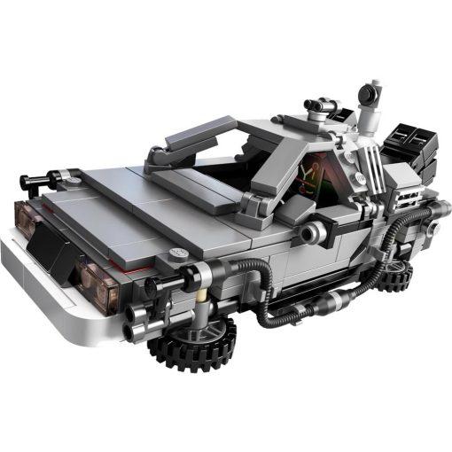 LEGO DeLorean Time Machine 21103 Build