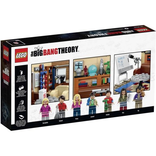 LEGO Big Bang Theory 21302 Box Back