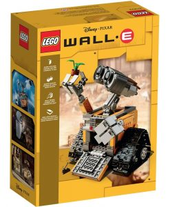 LEGO WALL-E 21303 Box Back