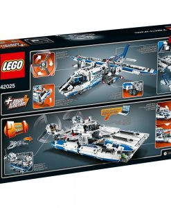 LEGO Technic Cargo Plane 42025 Box Back