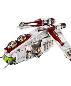 LEGO Star Wars Republic Gunship 75021 Build
