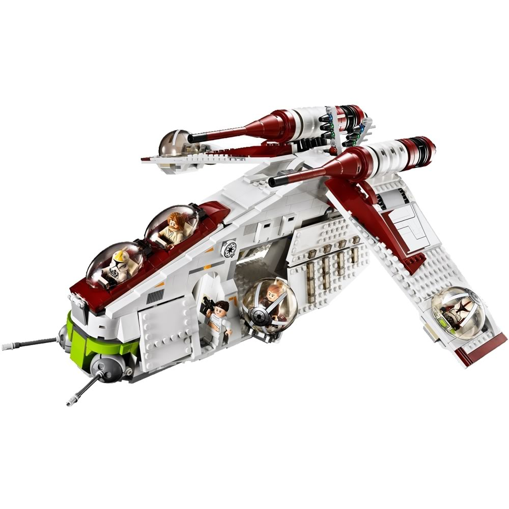 lego star wars republic gunship 75021 brickworld. Black Bedroom Furniture Sets. Home Design Ideas