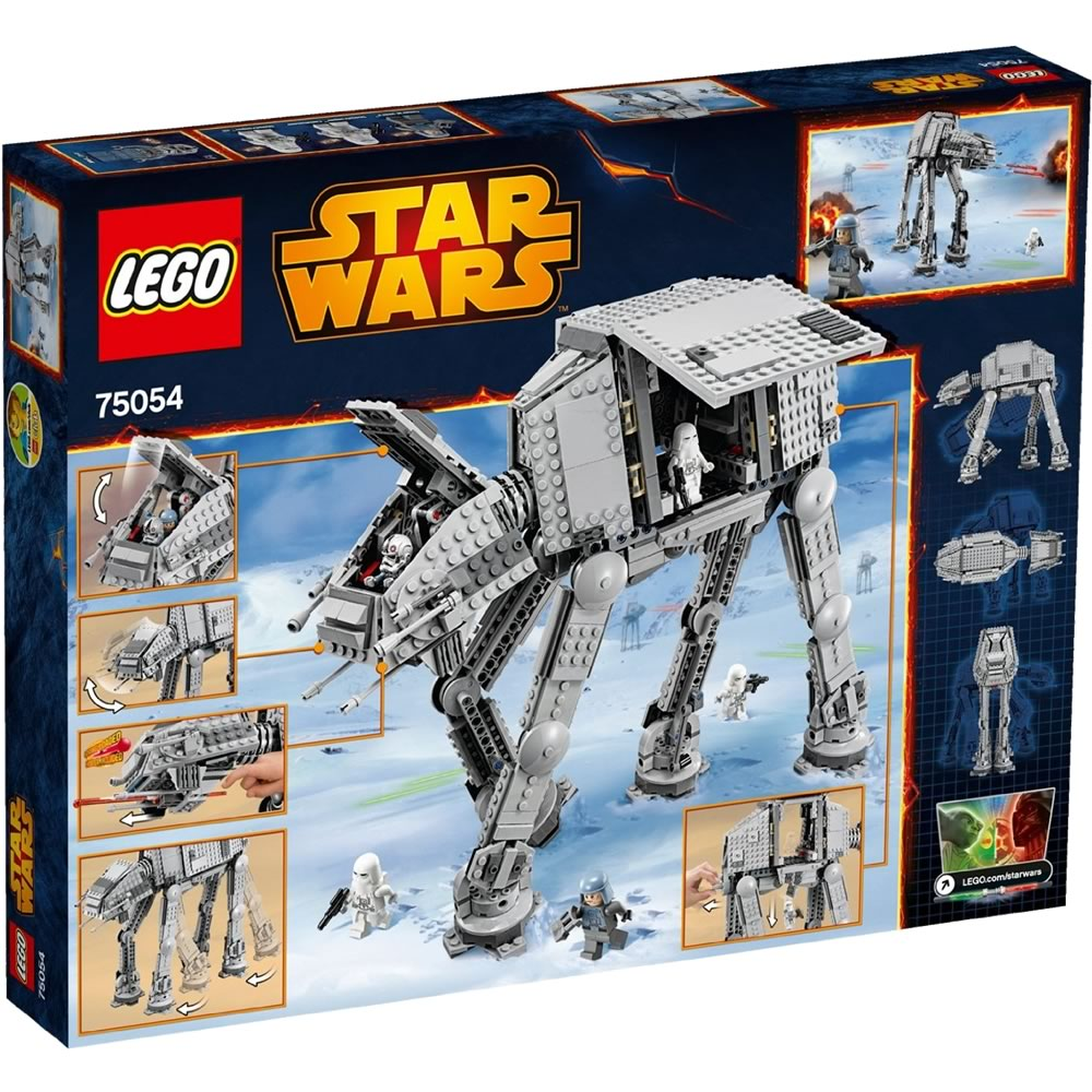 lego star wars at at 75054 brickworld. Black Bedroom Furniture Sets. Home Design Ideas