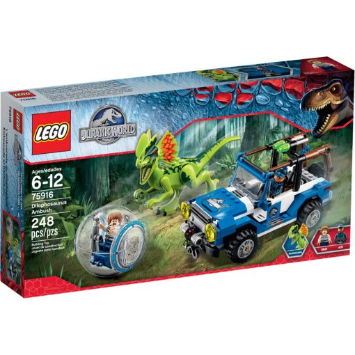 LEGO Dilophosaurus Ambush 75916 Box