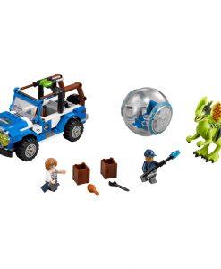 LEGO Dilophosaurus Ambush 75916 Build