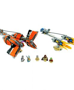 LEGO Star Wars Podracers 7962 Build