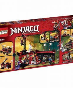 LEGO Ninja DB X 70750 Box Back
