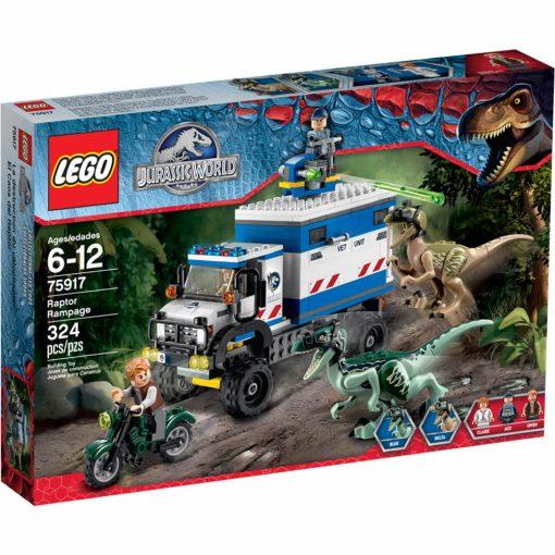 LEGO Jurassic World Raptor Rampage 75917 Box