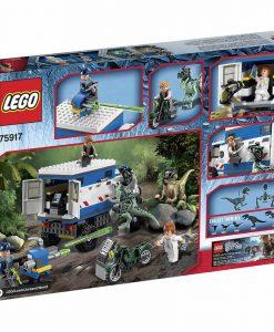 LEGO Jurassic World Raptor Rampage 75917 Box Back