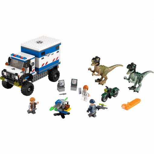 LEGO Jurassic World Raptor Rampage 75917 Build