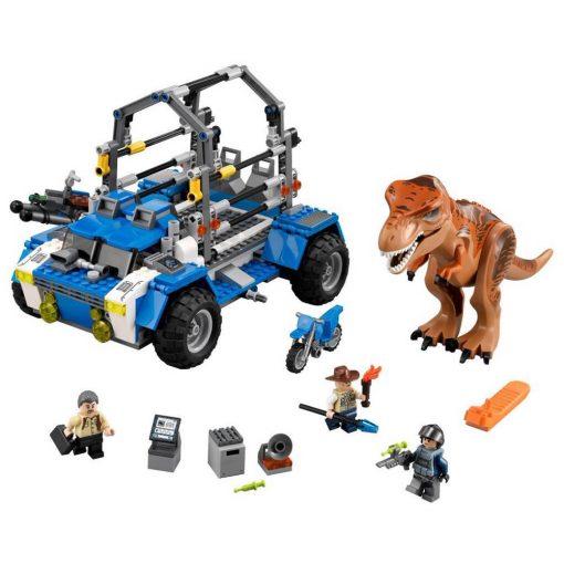 LEGO T-Rex Tracker 75918 Build