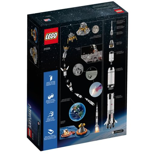 LEGO 21309 Box Back