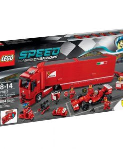 LEGO F14 T & Scuderia Ferrari Truck 75913 box